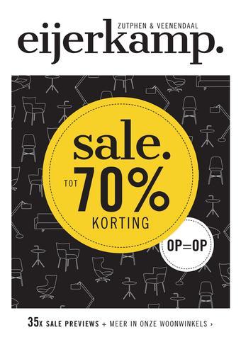 Eijerkamp reclame folder (geldig t/m 30-06)