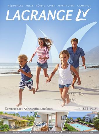 Grand Bleu Vacances catalogue publicitaire (valable jusqu'au 30-09)