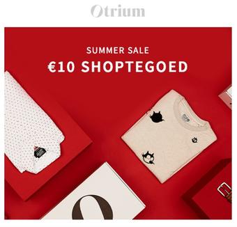 Otrium reclame folder (geldig t/m 31-07)