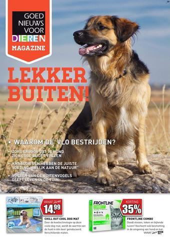 Goed Nieuws Voor Dieren reclame folder (geldig t/m 30-06)