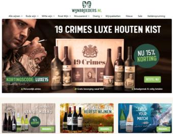Wijnbroeders reclame folder (geldig t/m 31-10)
