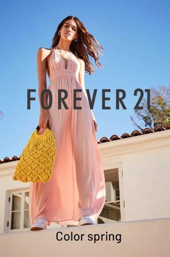 Forever 21 reclame folder (geldig t/m 30-06)