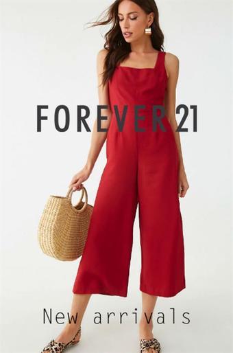 Forever 21 reclame folder (geldig t/m 30-09)