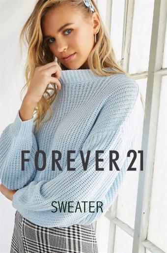Forever 21 reclame folder (geldig t/m 11-11)