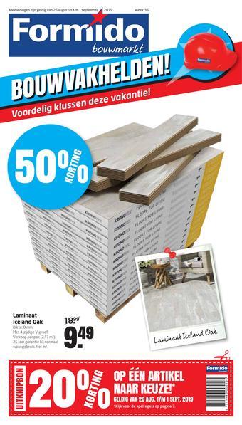 Formido reclame folder (geldig t/m 01-09)