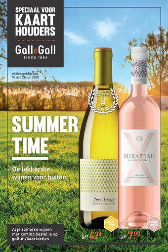 Gall & Gall reclame folder (geldig t/m 28-07)
