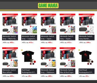 Game Mania reclame folder (geldig t/m 15-07)