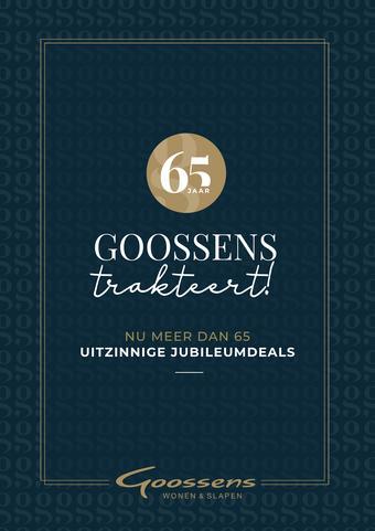 Goossens reclame folder (geldig t/m 03-11)
