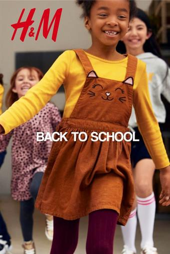 H&M reclame folder (geldig t/m 30-09)