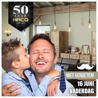 Haco reclame folder (geldig t/m 30-06)