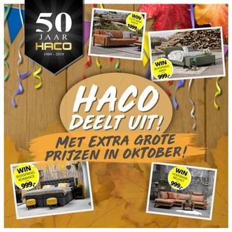 Haco reclame folder (geldig t/m 31-10)