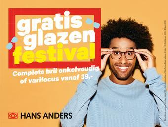 Hans Anders reclame folder (geldig t/m 30-06)
