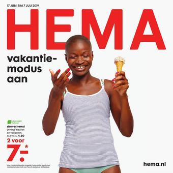 HEMA reclame folder (geldig t/m 07-07)
