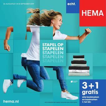 HEMA reclame folder (geldig t/m 08-09)