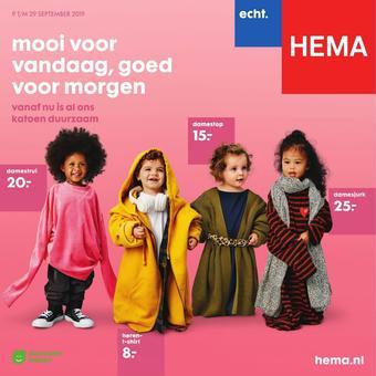 HEMA reclame folder (geldig t/m 29-09)