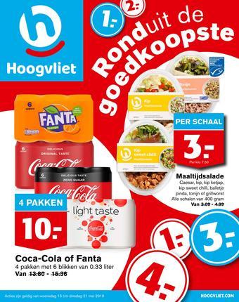Hoogvliet reclame folder (geldig t/m 21-05)
