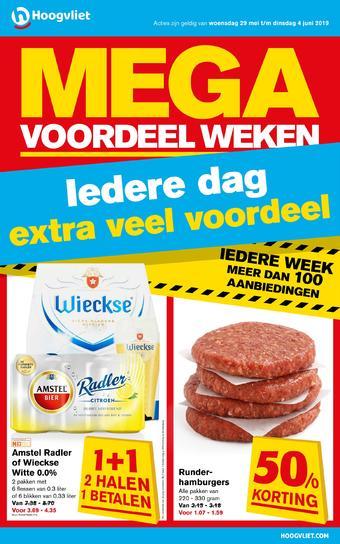 Hoogvliet reclame folder (geldig t/m 04-06)