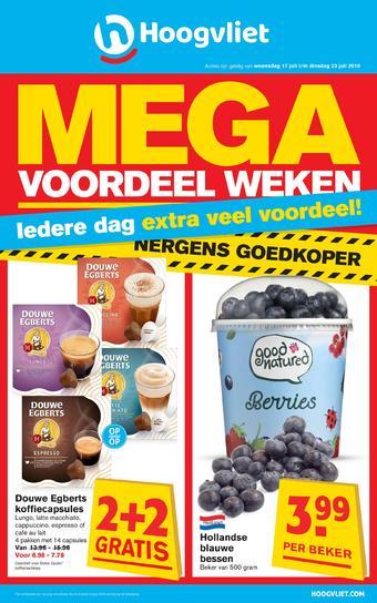 Hoogvliet reclame folder (geldig t/m 23-07)