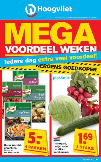 Hoogvliet reclame folder (geldig t/m 30-07)