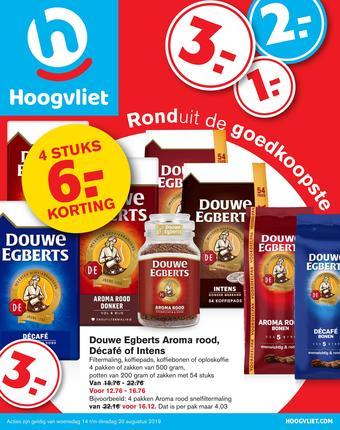 Hoogvliet reclame folder (geldig t/m 20-08)