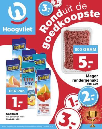 Hoogvliet reclame folder (geldig t/m 01-10)