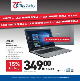Office Centre reclame folder (geldig t/m 20-07)