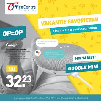 Office Centre reclame folder (geldig t/m 27-07)