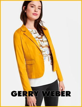 Gerry Weber reclame folder (geldig t/m 20-08)
