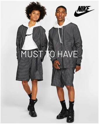 Nike reclame folder (geldig t/m 31-08)