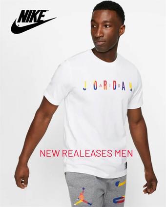 Nike reclame folder (geldig t/m 22-08)