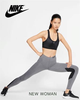 Nike reclame folder (geldig t/m 30-11)