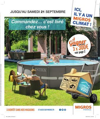 Migros catalogue publicitaire (valable jusqu'au 21-09)