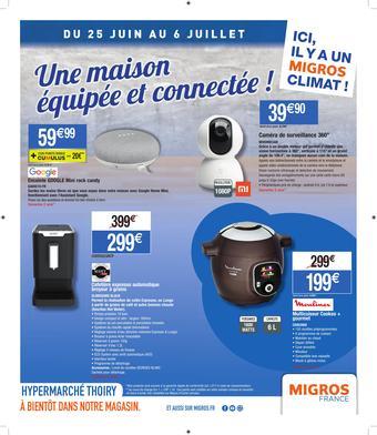 Migros catalogue publicitaire (valable jusqu'au 06-07)