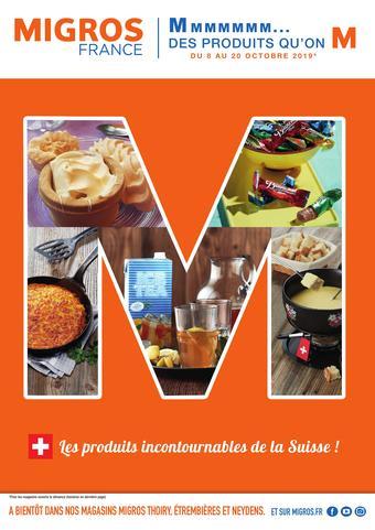 Migros catalogue publicitaire (valable jusqu'au 20-10)