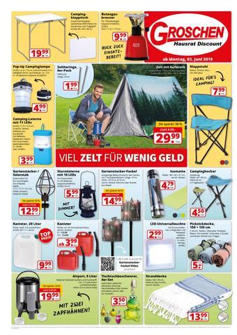 GROSCHEN Hausrat-Discount Prospekt (bis einschl. 30-06)