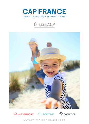 Cap France catalogue publicitaire (valable jusqu'au 31-05)