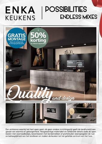 Enka Keukens reclame folder (geldig t/m 31-10)
