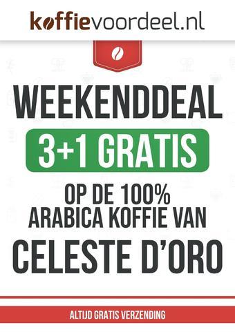 Koffievoordeel.nl reclame folder (geldig t/m 22-09)