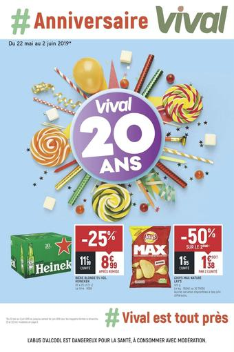 Vival catalogue publicitaire (valable jusqu'au 02-06)