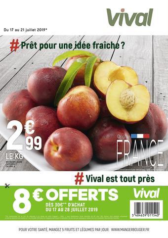 Vival catalogue publicitaire (valable jusqu'au 21-07)