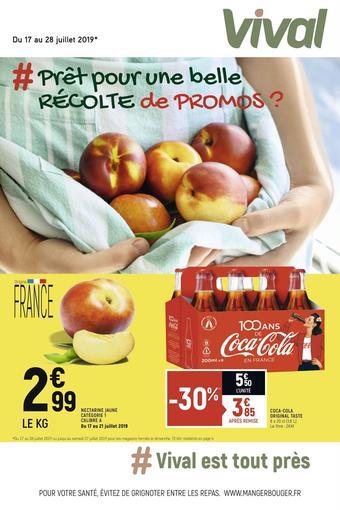 Vival catalogue publicitaire (valable jusqu'au 28-07)