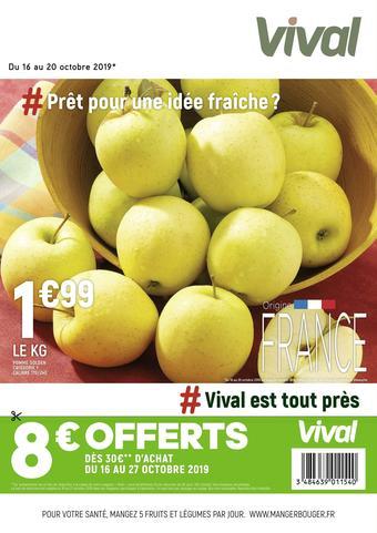 Vival catalogue publicitaire (valable jusqu'au 20-10)