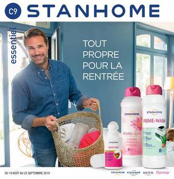 Stanhome catalogue publicitaire (valable jusqu'au 22-09)