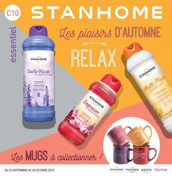 Stanhome catalogue publicitaire (valable jusqu'au 20-10)