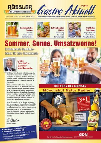 Getränke Rössler Prospekt (bis einschl. 30-06)