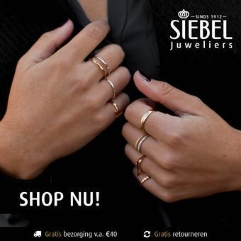 Siebel Juweliers reclame folder (geldig t/m 31-08)