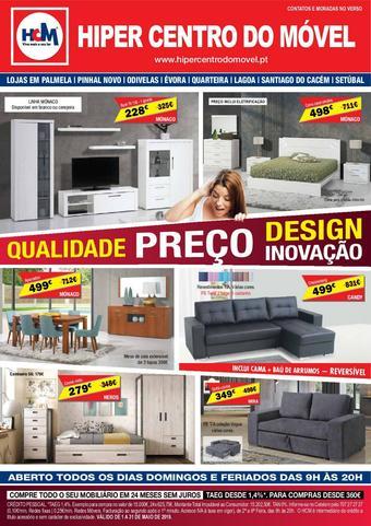 Hiper Centro do Móvel folheto promocional (válido de 10 ate 17 31-05)