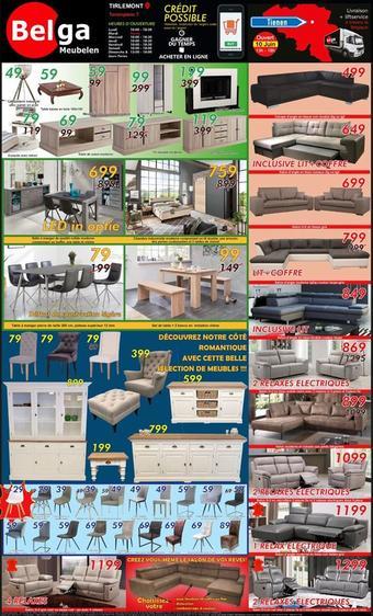 Belga Meubelen reclame folder (geldig t/m 30-06)