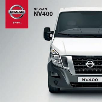 Nissan reclame folder (geldig t/m 20-01)