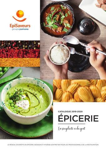 EpiSaveurs catalogue publicitaire (valable jusqu'au 31-12)